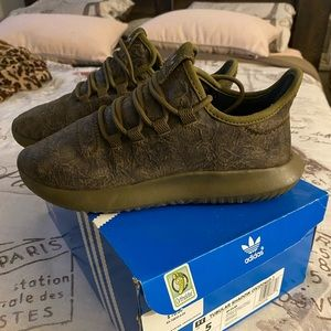 Adidas Army Green sneakers